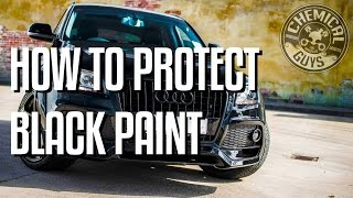 How To Protect Black Car Paint - 2014 Audi Q5 Chemical Guys