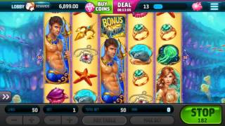 Slotomania $ MARMAID MONEY 🎰 Android Gameplay Vegas Casino Slot Jackpot Big Mega Wins Spins