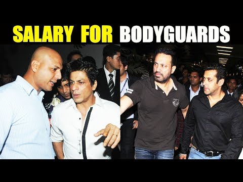 Shocking Salary Of Real Life Bodyguards Of Bollywood Celebs