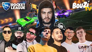 JE GAGNE UN TOURNOI ROCKET LEAGUE ENTRE STREAMER ??