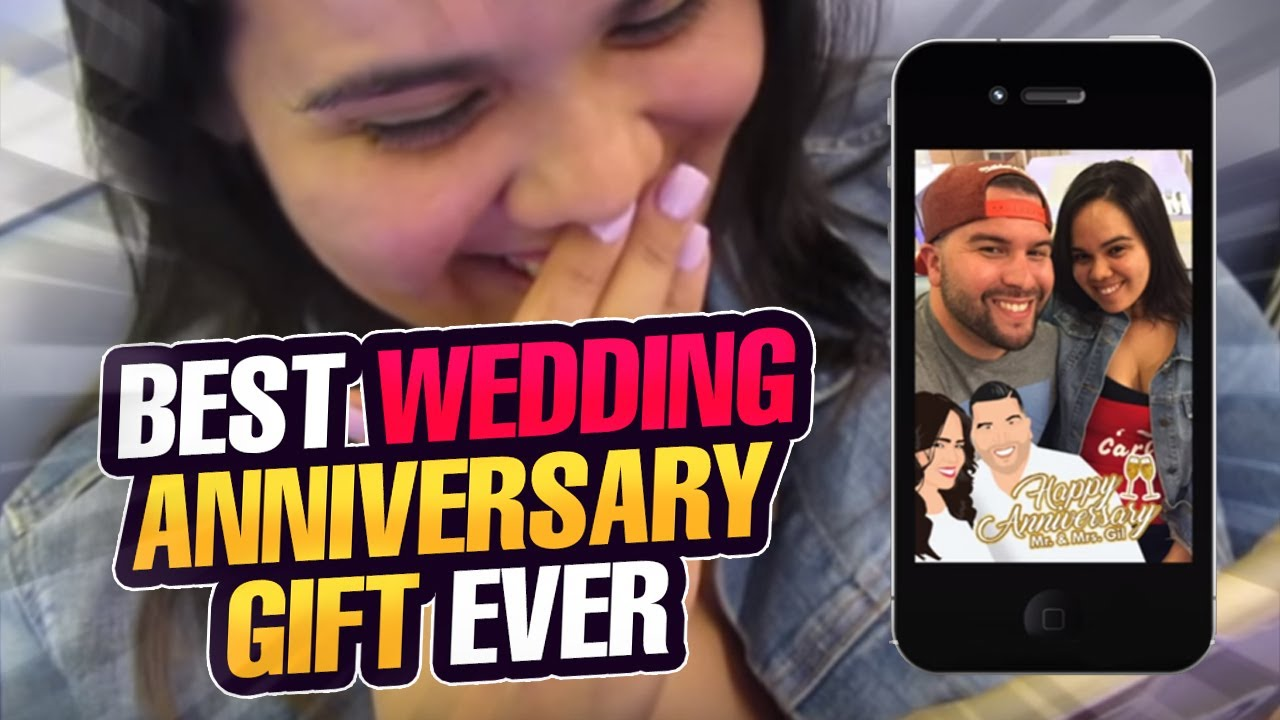 Best Wedding Anniversary Gift Ever - YouTube