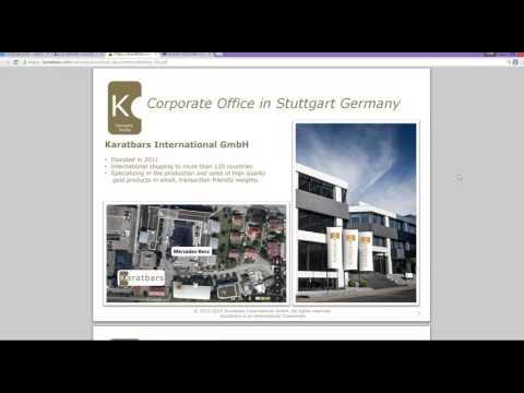 Karatbars Full Presentation 11 11 15