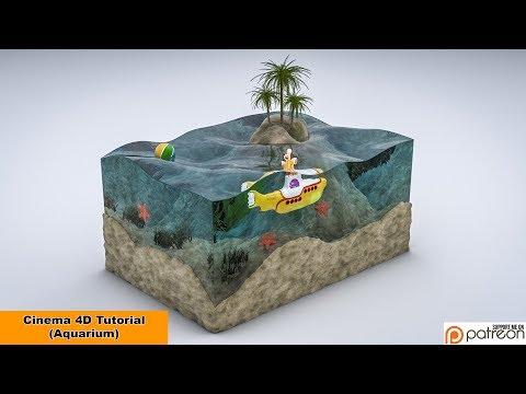 Aquarium Tutorial (Cinema 4D)