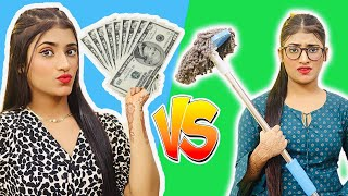 Rich Girl Vs. Normal Girl | SAMREEN ALI
