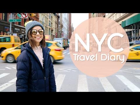 NYC Travel Diary  Ingrid Nilsen
