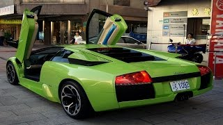 Spectacular Lamborghini Murciélago | Dubai Impressive Sports Cars | Hear The Sound of Roaring Lions