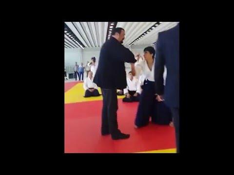 Steven Seagal uke Vusal Quliyev 2015 #Azerbaijan #Gence #Aikido #Steven Seagal #Sport