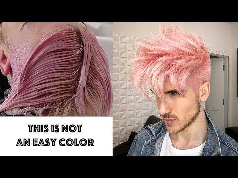 IRIDESCENT PINK HAIR
