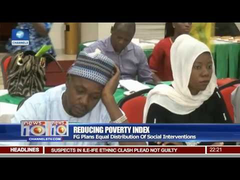 News@10: FG Plans Equal Distribution Of Social Interventions To Reduce Poverty 28/04/17 Pt.2
