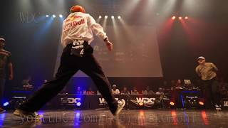 RUSHBALL(KYOKA MAiKA) vs Stalmuerte & Diablo BEST4 HIPHOP WDC 2018 FINAL World Dance Colosseum