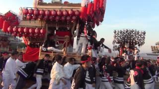 平成26年 平石 サンヨーメディカル 南河内だんじり祭り 2014/10/19(日)