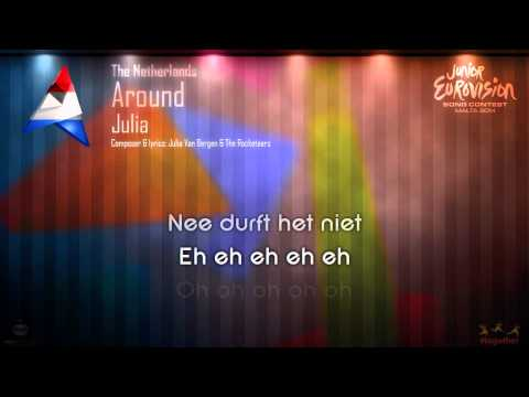 "Julia - ""Around"" (The Netherlands) - [Karaoke version]"