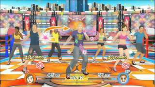 ExerBeat™ for Wii™ - Boxercising gameplay video
