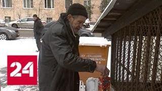 Столичные подъезды оккупировали бездомные - Россия 24