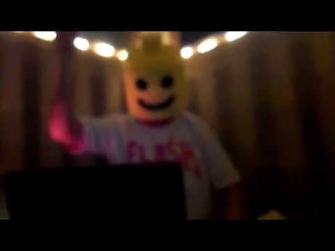 DJ Lego head!