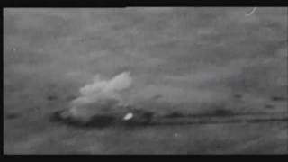 german WW2 STUKA ju87g shooting T34, T35, A9/10 cruiser tanks with anti-tank gun combat camera video