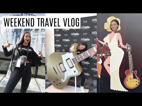 I FLEW MY PARENTS OUT TO A ROCK & ROLL CONVENTION... HERE'S HOW IT WENT || NAMM CONVENTION