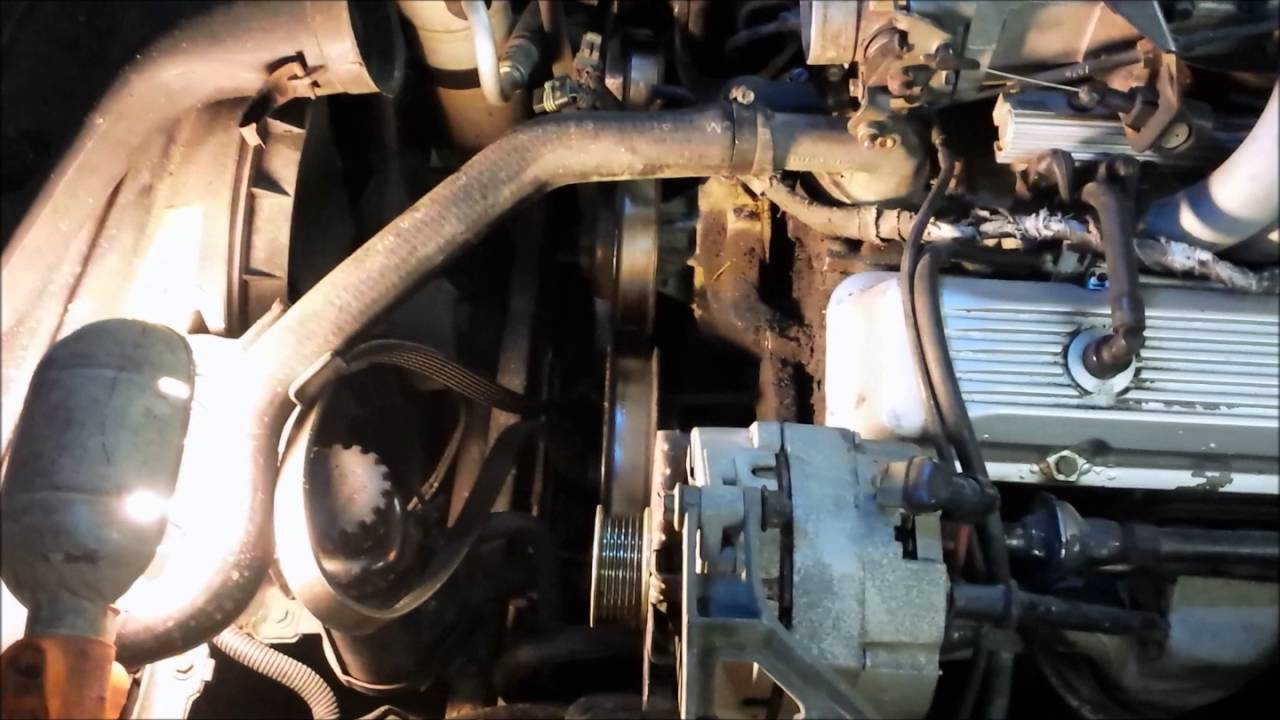 small resolution of smog pump removal for corvette