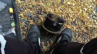 6. Замена мотора отопителя, Лада Калина. (Замена мотора печки)