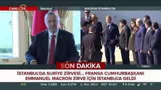 Fransa Cumhurbaşkanı Emmanuel Macron İstanbul'da