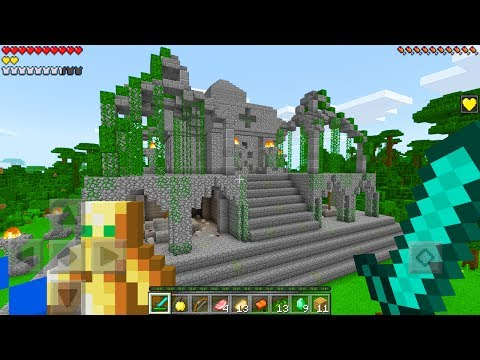Do NOT Enter The LOST TEMPLE in Minecraft Pocket Edition!!!
