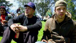 4/20/2010 at Hippie Hill in San Francisco's Golden Gate Park
