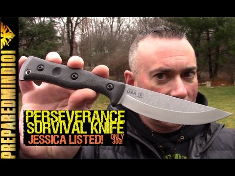 Perseverance Survival Knife (TOPS Built) - DEFINITELY Jessica Listed!!!