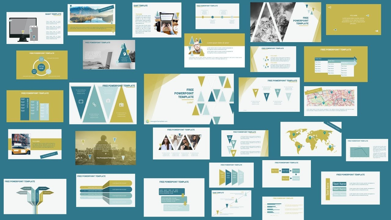 Morph Powerpoint Template Free Download