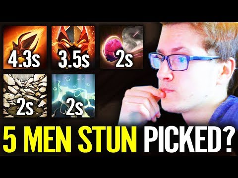 STUN FOREVER - WTF!? 100% Disable Cancer PICK Dota 2 match by Miracle thumbnail