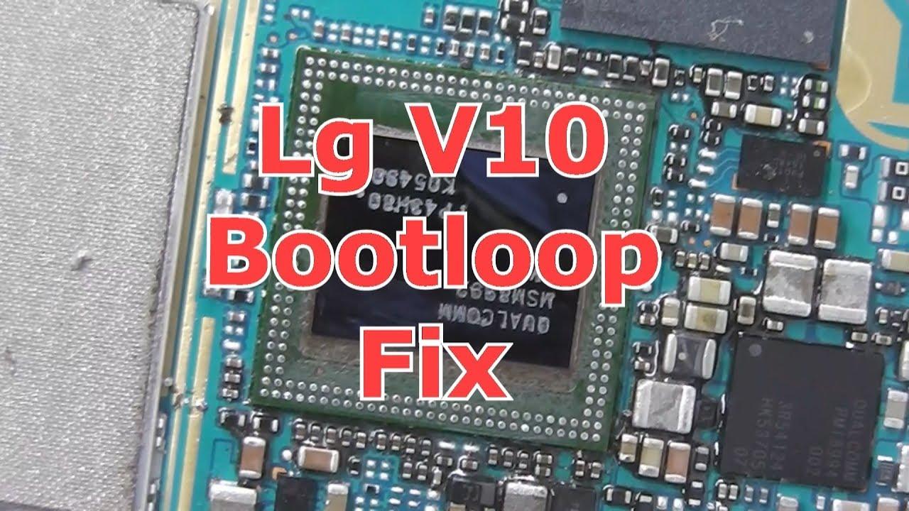 Lg V10 Bootloop Fix Youtube
