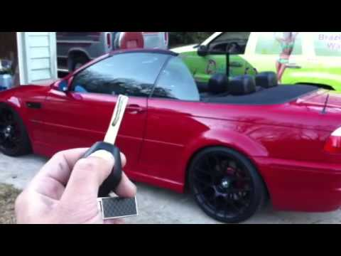E46 M3 Convertible Top Opens With Remote Youtube