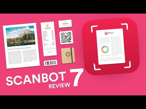 Scanbot 7 Review: A Pro Scanner for Mobile - YouTube