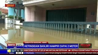 Terendam Banjir, Listrik di Dayeuhkolot Dipadamkam Sementara
