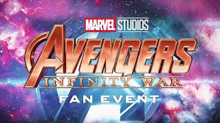 Avengers: Infinity War UK Fan Event