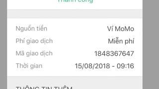 Cách chuyển tiền miễn phí bằng app momo