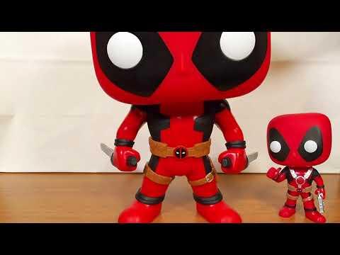 Funko Pop Deadpool 543 Super Sized 25cm