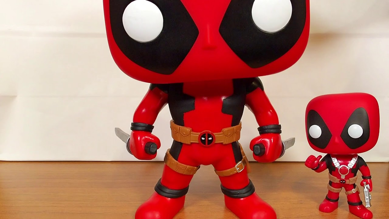 25 cm Super Sized Funko POP - Deadpool Blue Deadpool