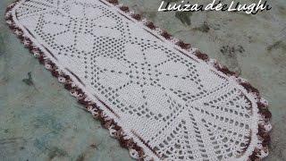 Tapete para pia de cozinha - PAP # By Luiza de Lugh