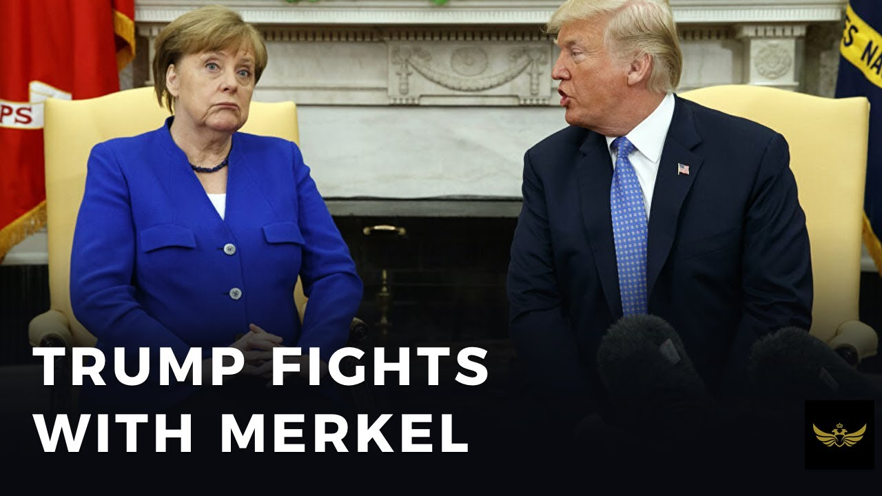 Trump fights with Merkel, Trump pulls out of WHO (Before the video)