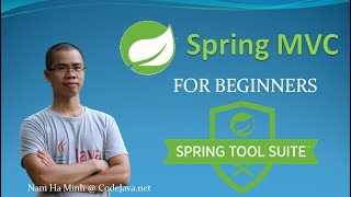 Spring MVC Beginner Tutorial with Spring Tool Suite IDE