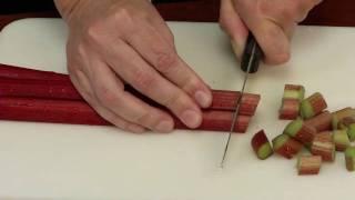 Food Preservation Demonstration: Fręezing Rhubarb