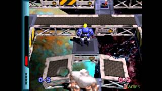 Grid Runner - Gameplay PSX / PS1 / PS One / HD 720P (Epsxe)