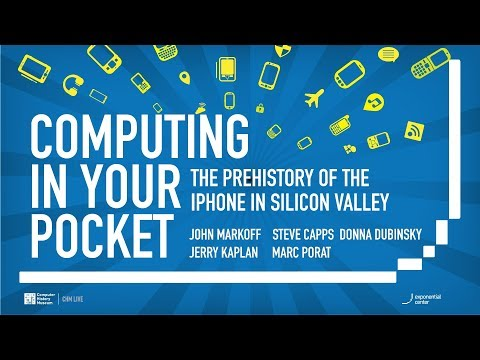 CHM Live │Computing In Your Pocket: The Prehistory of the iPhone in Silicon Valley