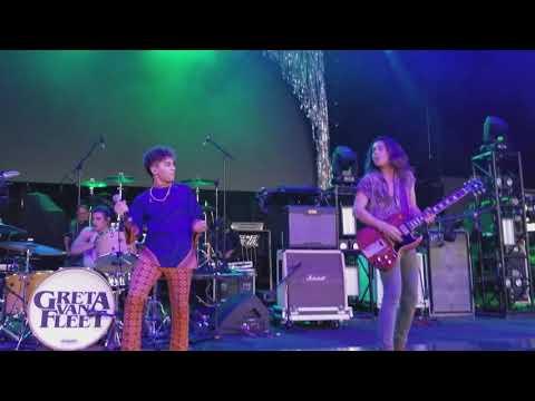 Greta Van Fleet - Highway Tune; Riff Fest; DTE Energy Theater; 9-29-2017