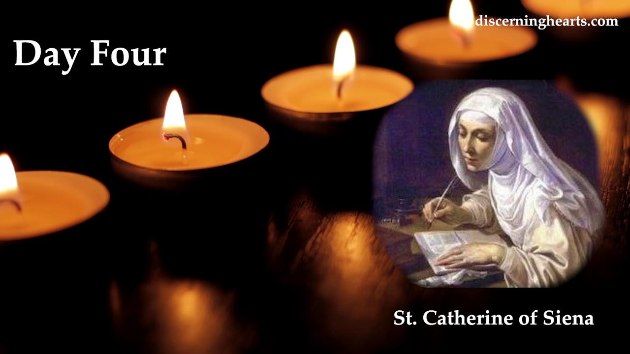 Novena to St. Catherine of Siena - Day Four - YouTube
