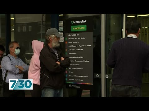 Federal Government Trying To Keep The Economy Ticking Over | 7.30