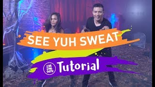 TUTORIAL: See Yuh Sweat | Halloween Special | Live Love Party | Dance Fitness | YouTube Space Manila
