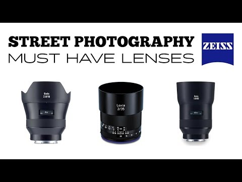 MUST HAVE Sony/Zeiss Lenses For STREET Photography [Tokyo - Dec 2017]