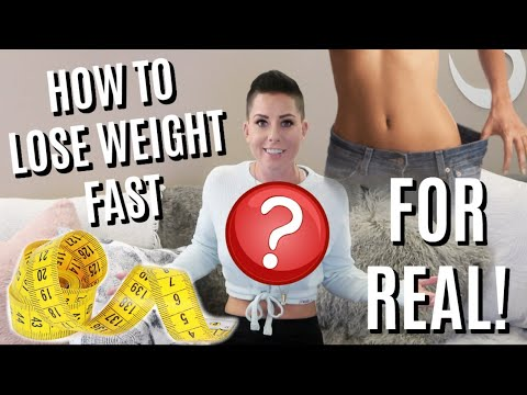 HOW TO LOSE WEIGHT FAST – LOSE 3 INCHES IN 3 DAYS! LEGITIMATELY.