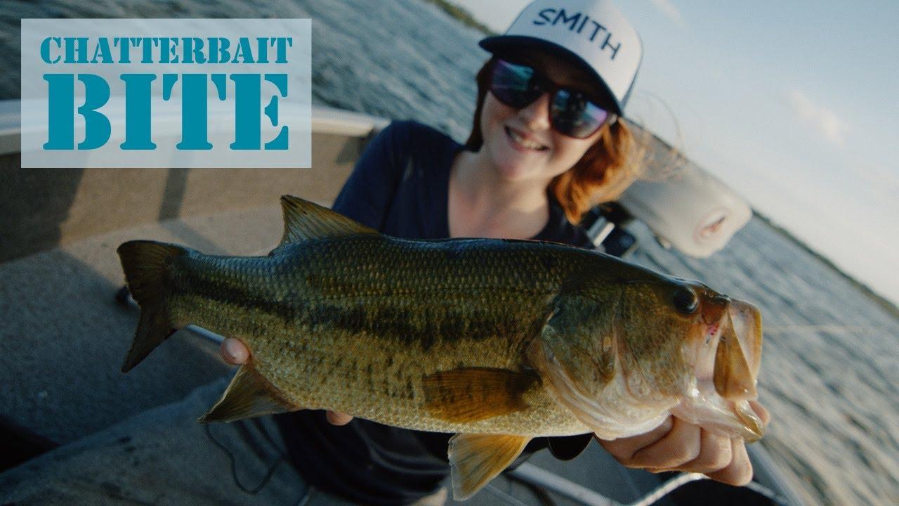 Windblown Chatterbait Largemouth Bass